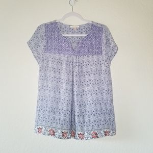 skies are blue blouse sz medium